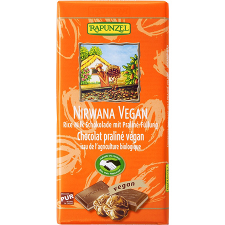 Rapunzel Nirwana Vegan Chocolate Bar 100g