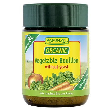 Rapunzel Organic Vegetable Bouillon Yeast Free 125g