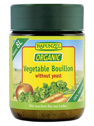 Rapunzel Organic Vegetable Bouillon Yeast Free 160g