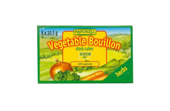 Rapunzel Vegetable Bouillon Cubes