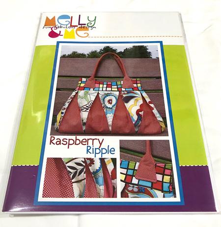 Raspberry Ripple Bag Pattern