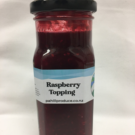 Raspberry Topping