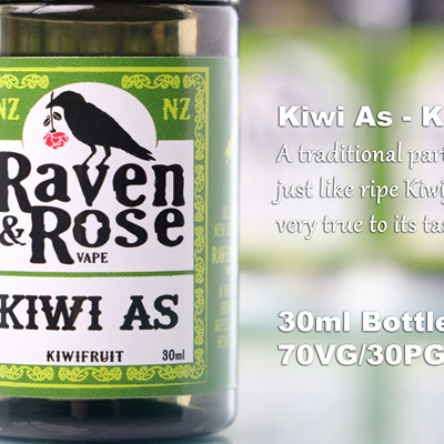 Raven & Rose - Kiwi As - Kiwifruit
