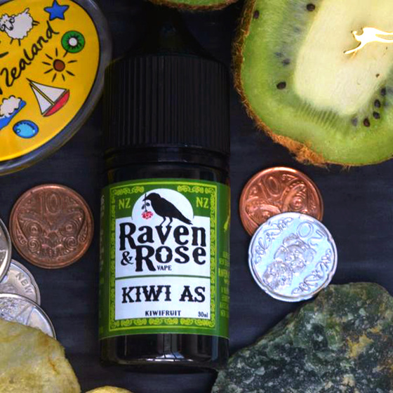 Raven & Rose Kiwi As @ Naked Vapour