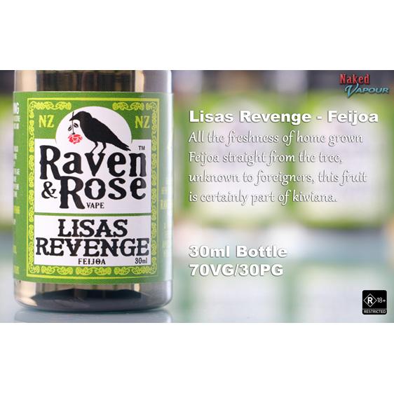 Raven & Rose Lisa's Revenge @ Naked Vapour