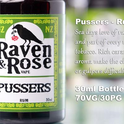 Raven & Rose - Pussers - Rum
