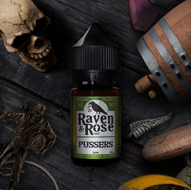 Raven & Rose Vape - Pussers @ Naked Vapour