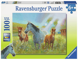 Ravensburger 100 Piece Jigsaw Puzzle: Equine Pasture