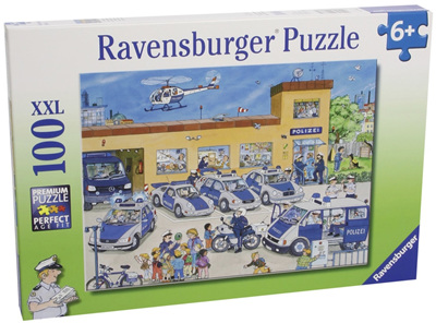 Ravensburger 100 Piece  Jigsaw Puzzle: Police District