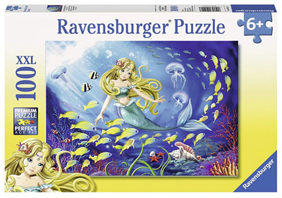 Ravensburger 100XXL Piece  Jigsaw Puzzle: Little Mermaid