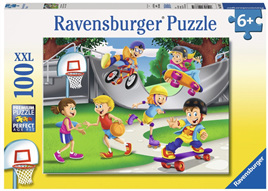 Ravensburger 100 Piece Jigsaw Puzzle: Skating Adventure