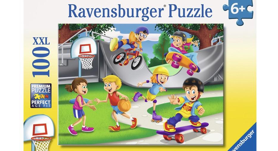 Ravensburger 100 Piece Jigsaw Puzzle: Skating Adventure