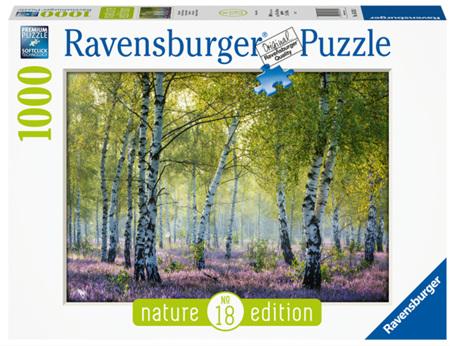Ravensburger 1000 Piece Jigsaw Puzzle:  Birch Forest