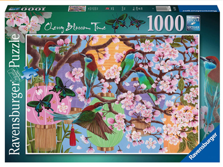 Ravensburger 1000 Piece Jigsaw Puzzle: Cherry Blossom Time
