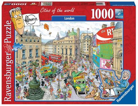 Ravensburger 1000 Piece Jigsaw Puzzle: Cities Of The World - (Fleroux: London)