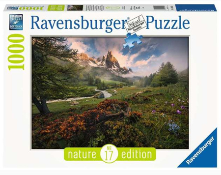 Ravensburger 1000 Piece Jigsaw Puzzle: Claree Valley French Alps