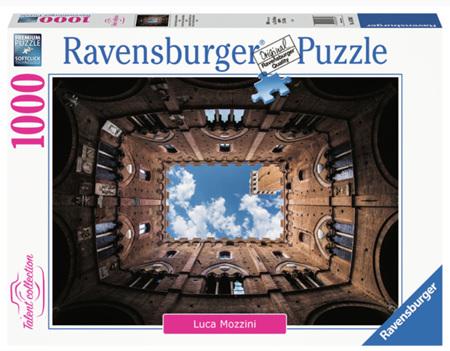 Ravensburger 1000 Piece Jigsaw Puzzle: Courtyard Palazzo Pubblico Siena