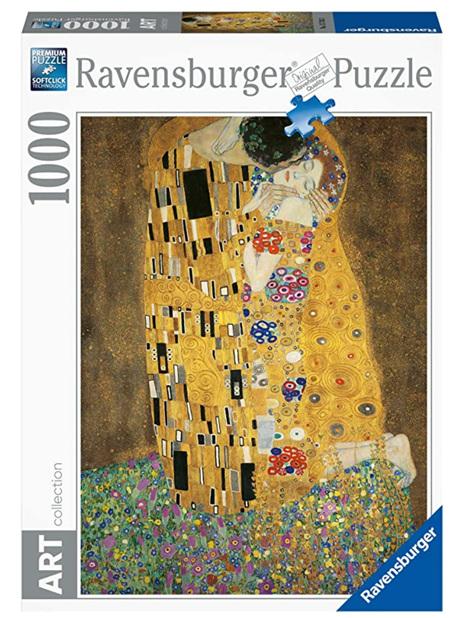 Ravensburger 1000 Piece Jigsaw Puzzle: Klimt - The KIss