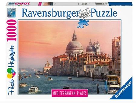 Ravensburger 1000 Piece Jigsaw Puzzle:  Mediterranean Italy