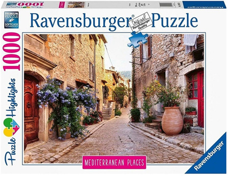 Ravensburger 1000 Piece Jigsaw Puzzle: Mediterranean France