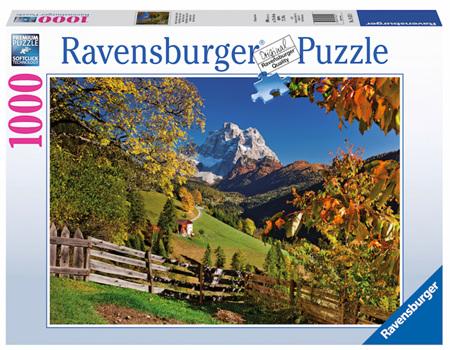Ravensburger 1000 Piece Jigsaw Puzzle: Mountainous Italy