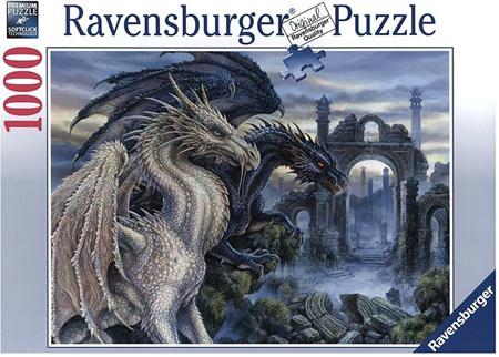 Ravensburger 1000 Piece Jigsaw Puzzle: Mystical Dragon