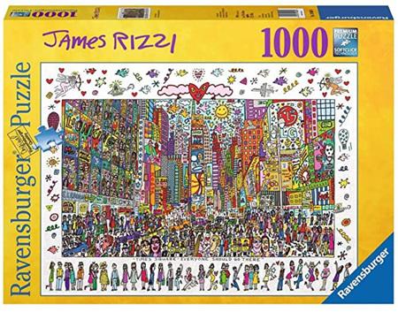 Ravensburger 1000 Piece Jigsaw Puzzle: Rizzi: Times Square