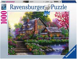 Ravensburger 1000 Piece  Jigsaw Puzzle: Romantic Cottage