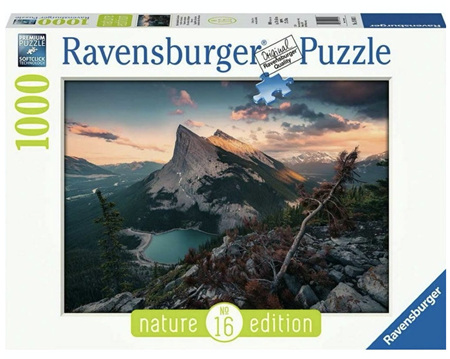 Ravensburger 1000 Piece Jigsaw Puzzle: Rugged Rocky Mountains