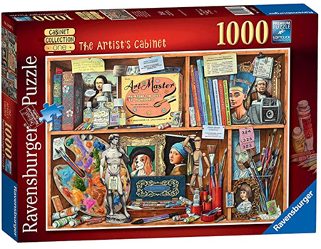 Ravensburger 1000 Piece Jigsaw Puzzle: The Artists Cabinet