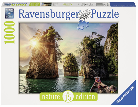 Ravensburger 1000 Piece Jigsaw Puzzle: The Rocks in Cheow -  Thailand