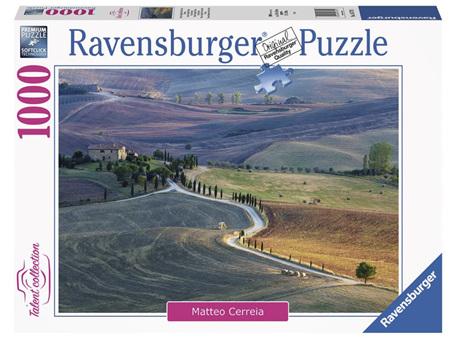 Ravensburger 1000 Piece Jigsaw Puzzle:  Tuscan Farmhouse Pienza Siena