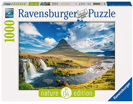 Ravensburger 1000 Piece Jigsaw Puzzle: Visions of Kirkjufell
