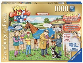 Ravensburger 1000 Piece  Jigsaw Puzzle: WHATIF? No 8 The Racehorse