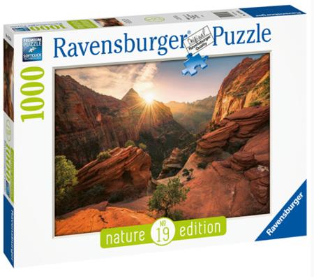 Ravensburger 1000 Piece Jigsaw Puzzle - Zion Canyon USA