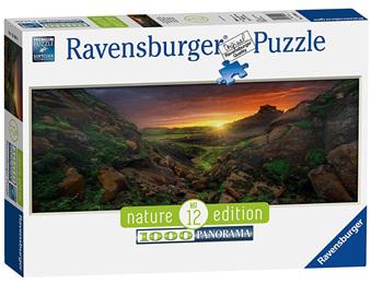 Ravensburger 1000 Piece  Panorama Jigsaw Puzzle: Sun Over Iceland