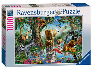 Ravensburger 1000 Piece Jigsaw Puzzle: Adventures In The Jungle