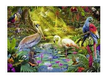 Ravensburger 1000 Piece  Jigsaw Puzzle:  Bird Paradise
