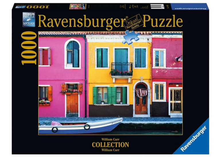 Ravensburger 1000 Piece  Puzzle Graziella Burano buy at www.puzzlesnz.co.nz