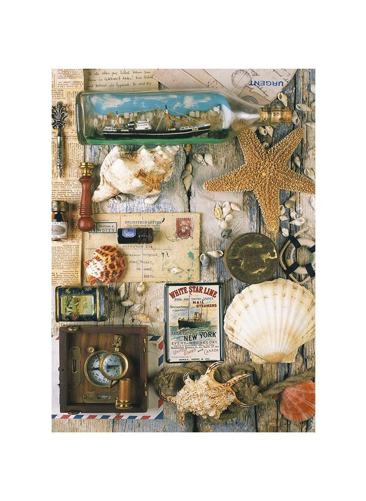 Ravensburger 1000 Piece Jigsaw Puzzle: Maritime Collage