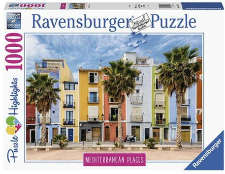 Ravensburger 1000 Piece Jigsaw Puzzle: Mediterranean Spain