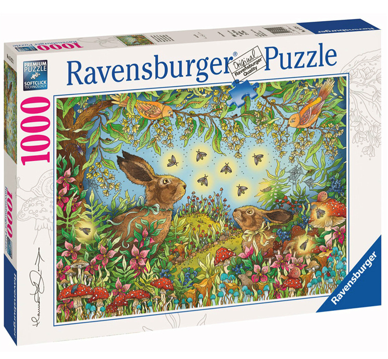 Ravensburger 1000 piece puzzle Nocturnal Forest Magic buy at www.puzzlesnz.co.nz