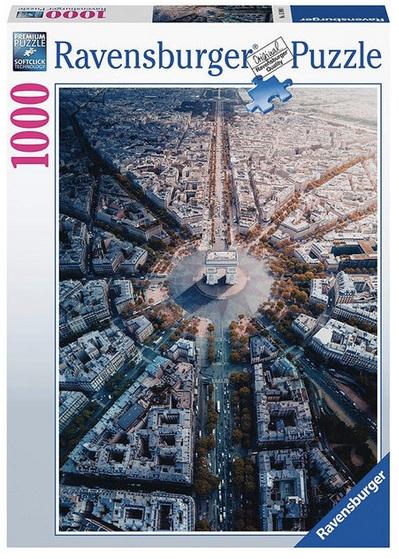 Ravensburger 1000 piece puzzle:  Paris From Above