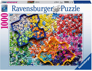 Ravensburger 1000 Piece  Jigsaw Puzzle: The Puzzlers Palette