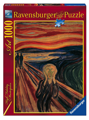 "Ravensburger 1000 Piece Jigsaw Puzzle: Edward Munch ""The Scream"""