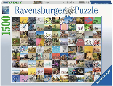 Ravensburger 1500 Piece Jigsaw Puzzle: 99 Bicycles