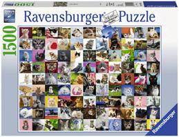 Ravensburger 1500 Piece  Jigsaw Puzzle: 99 Cats