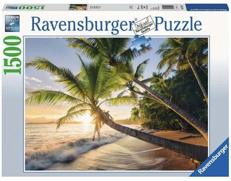 Ravensburger 1500 Piece Jigsaw Puzzle: Beach Hideaway
