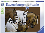 Ravensburger 1500 Piece Jigsaw Puzzle Elegant Horses buy at www.puzzlesnz.co.nz