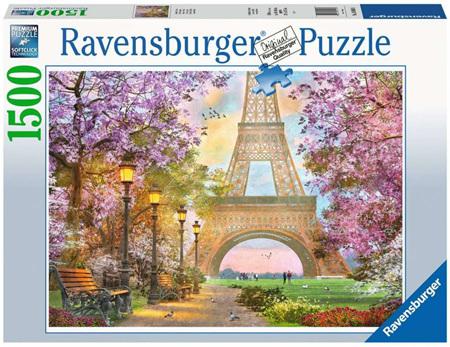 Ravensburger 1500 Piece Jigsaw Puzzle: Paris Romance
